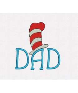 Dad Dr- Seuss Hat