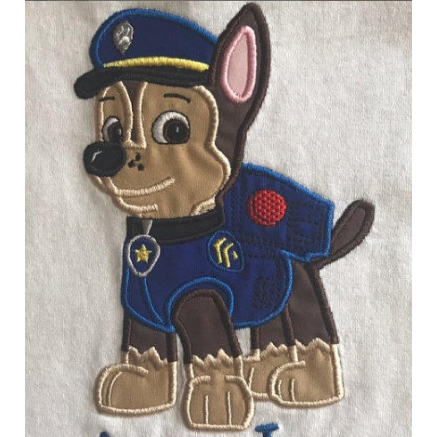 Chase Paw Patrol applique
