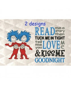 Thing 1 Thing 2 with read me a story