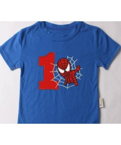 spiderman with number 1