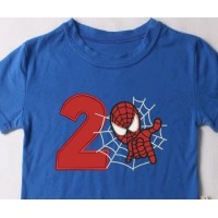 spiderman with number 2