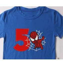 spiderman with number 5