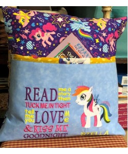 my little pony with read me a story 2 designs 3 sizes
