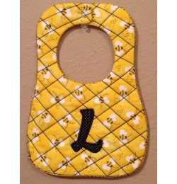 Baby bibs diamond ITH in the hoop Embroidery