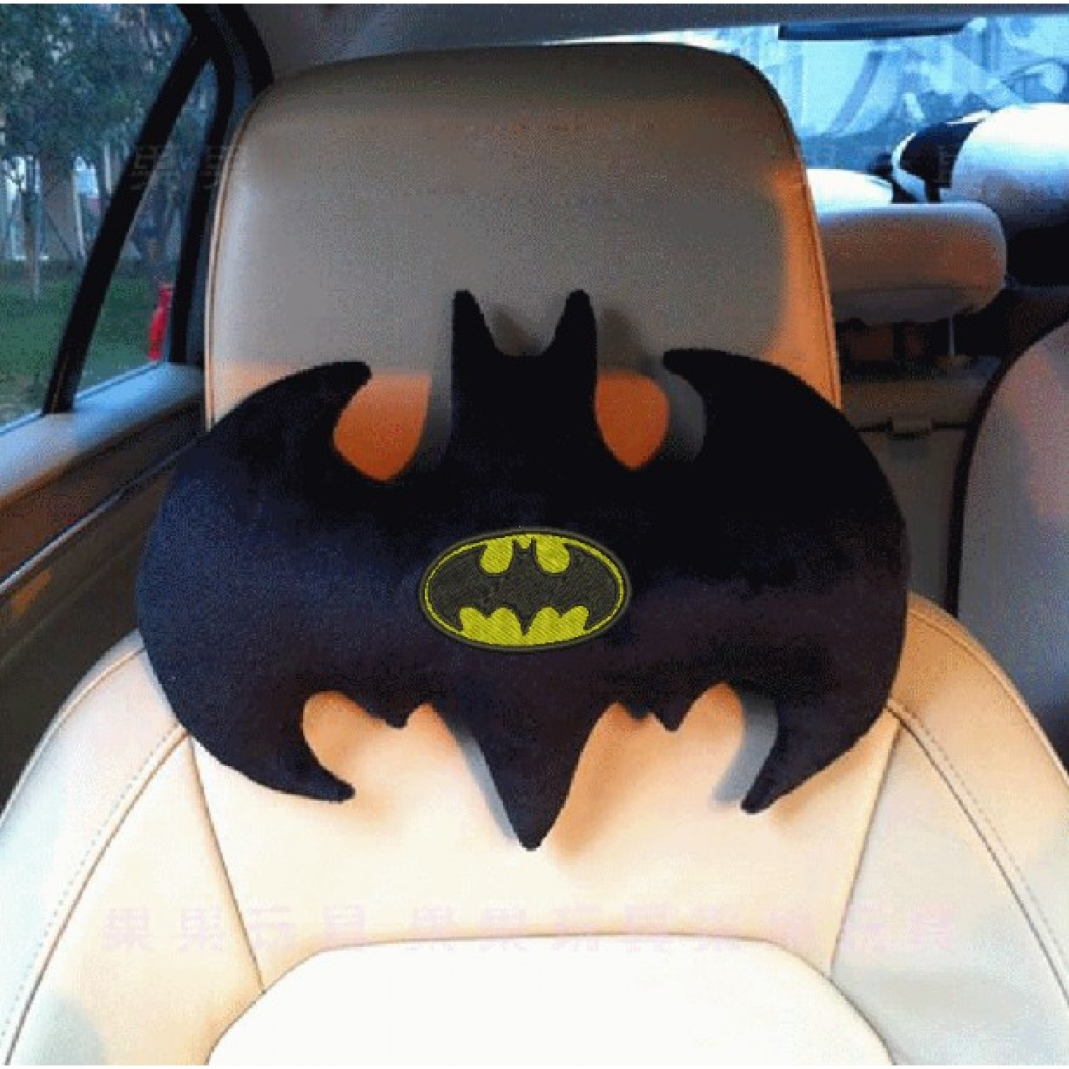 Batman Pillow ith in the hoop