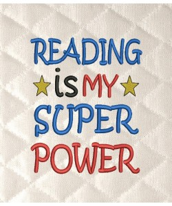 Reading is My Super power v2