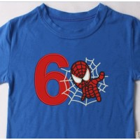 spiderman with number 6