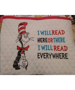 Dr-Seuss embroidery with i will read
