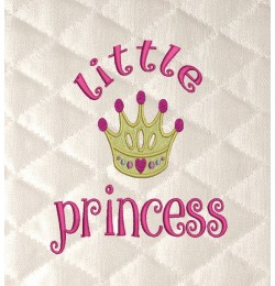 Little Princess embroidery