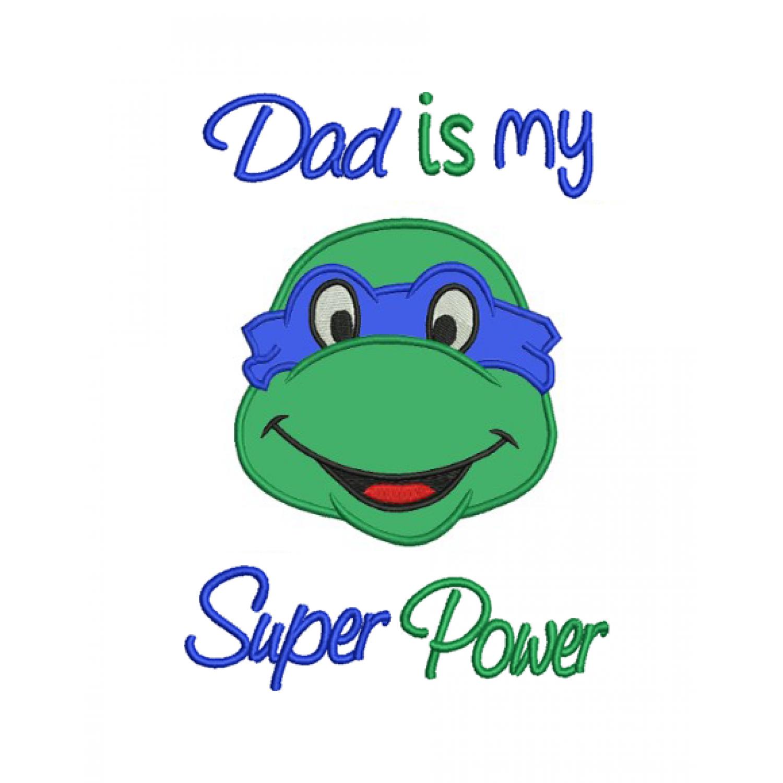 Dad is my superpower ninja