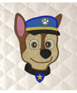 Paw Patrol Chase Face