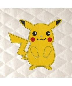 Pokemon Pikachu applique
