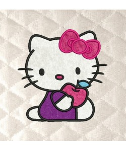 Hello Kitty applique