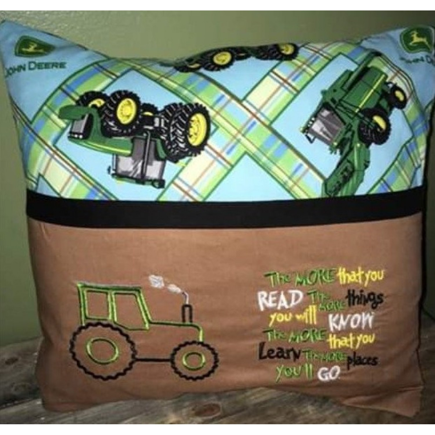 Tractor with the more that you read