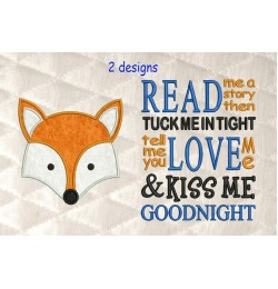 Fox Face with Read me a story