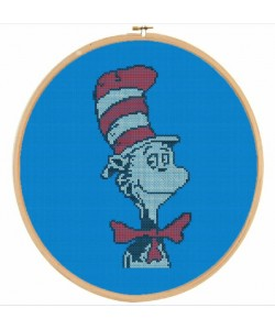 Dr-Seuss cross stitch