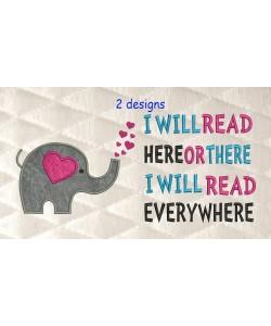 Elephant Hearts with i will read