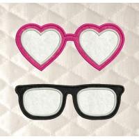 glasses applique