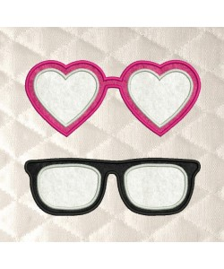 glasses applique