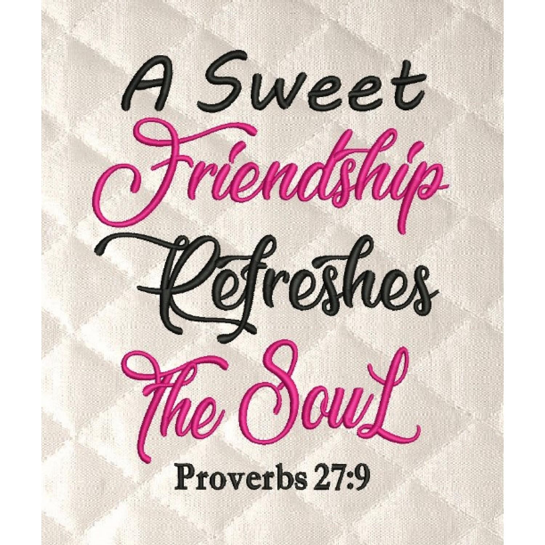 A Sweet friendship