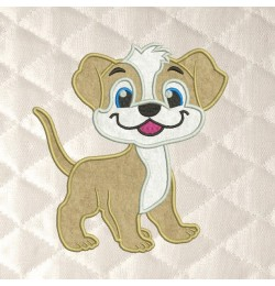 Dog applique Design