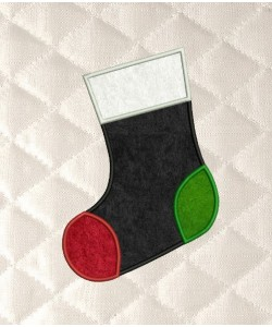 Christmas Stocking applique