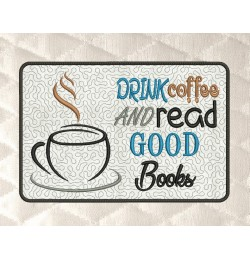 Drink coffee mug rug