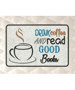 Drink coffee mug rug