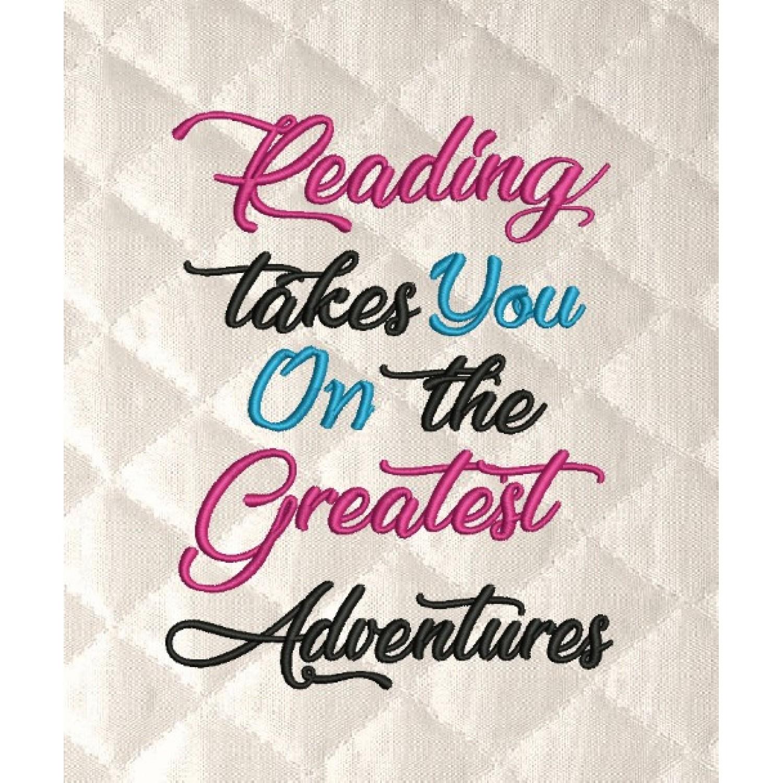 reading takes you