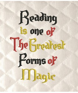 Reading is one