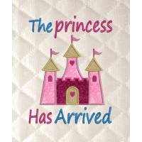 the princess has arrived v2 applique