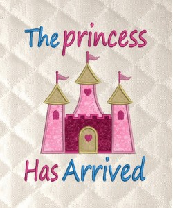 the princess has arrived v2 applique