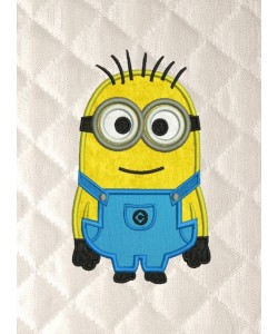 bob minion applique