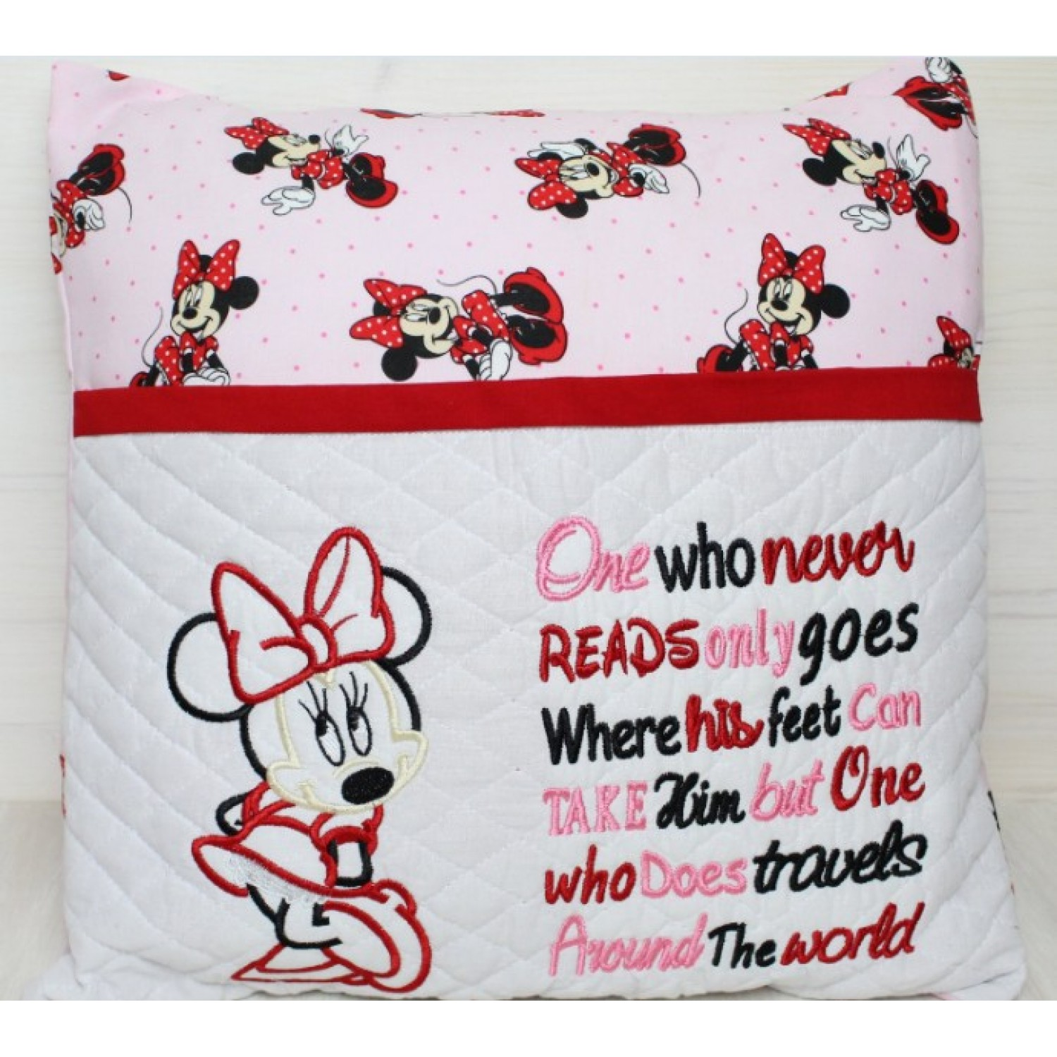 minnie mouse one who never reads