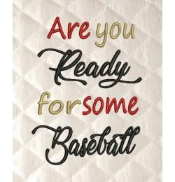 Are You Baseball