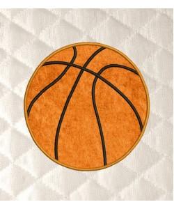 basketball to applique