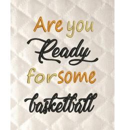 Are You basketball