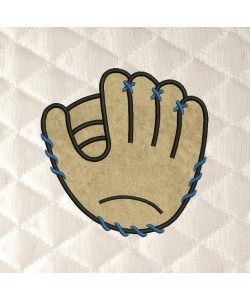 Baseball Glove applique