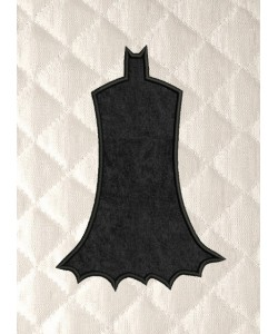 Batman Silhouette applique