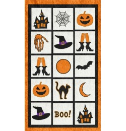 halloween quilt set 12 designs applique