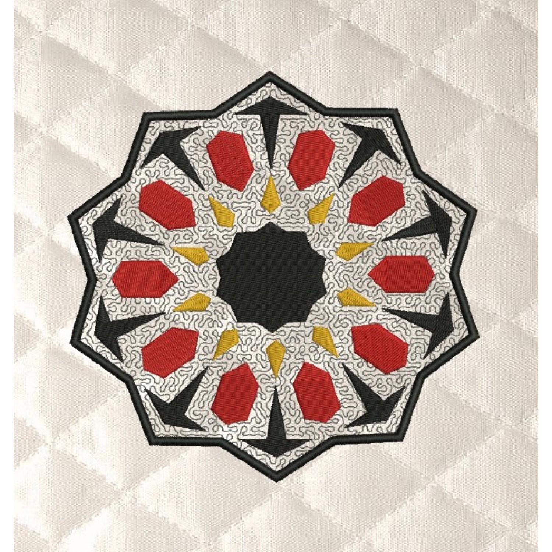 moroccan tiles applique