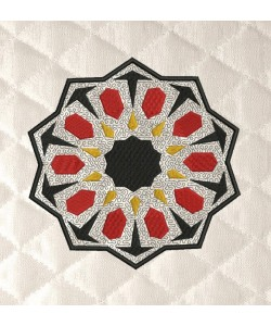 moroccan tiles applique