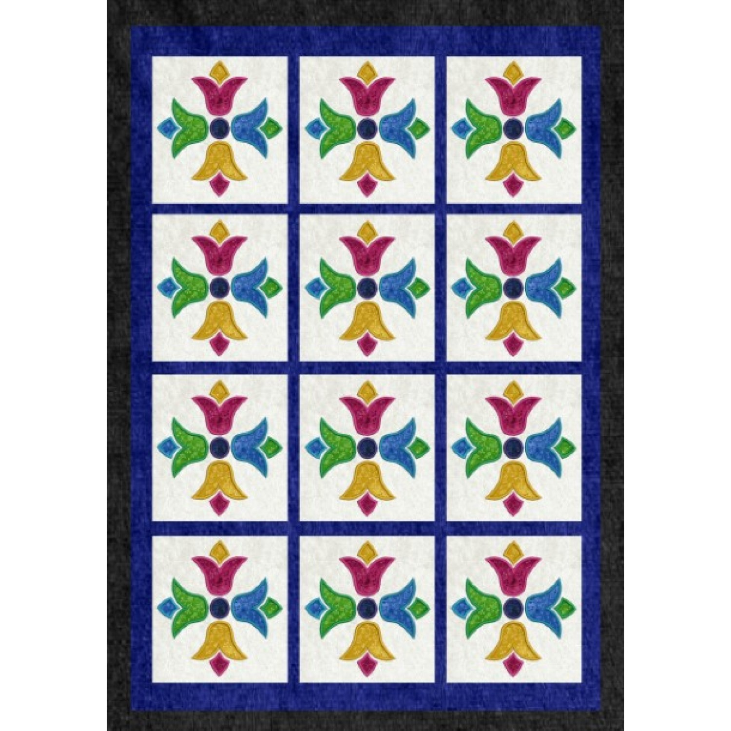 Moroccan Tiles v3 applique
