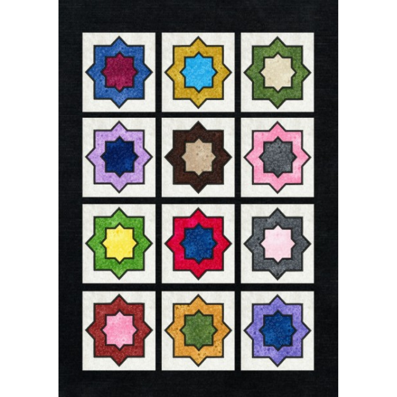 Moroccan pattern applique