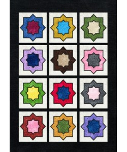 Moroccan pattern applique