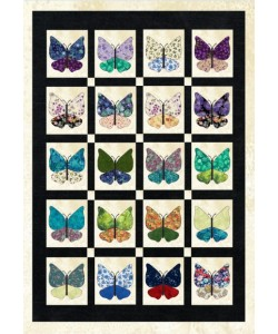 butterfly quilt applique