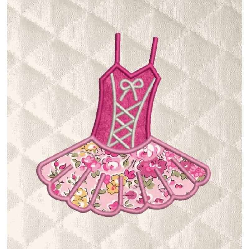 Ballerina suit applique