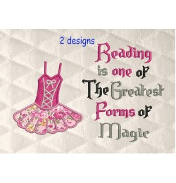 Ballerina suit with Reading is one