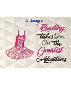 Ballerina suit with Reading takes you