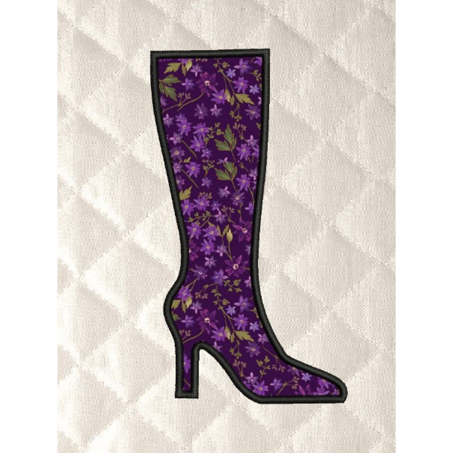 Boot shoes applique